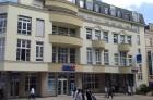 Rekonstrukce fasády na objektu České spořitelny Karlovy Vary