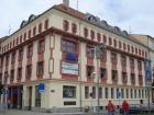 Rekonstrukce fasády na objektu České spořitelny v Táboře