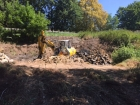 Milevský potok čištění