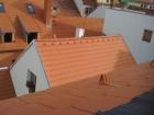 Bytový dům Česká ulice v Českých Budějovicích, rekonstrukce střechy